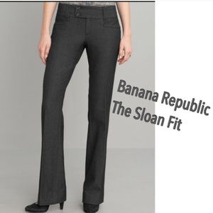 NEW BANANA REPUBLIC Sloan Fit Gray Trouser Pant 10
